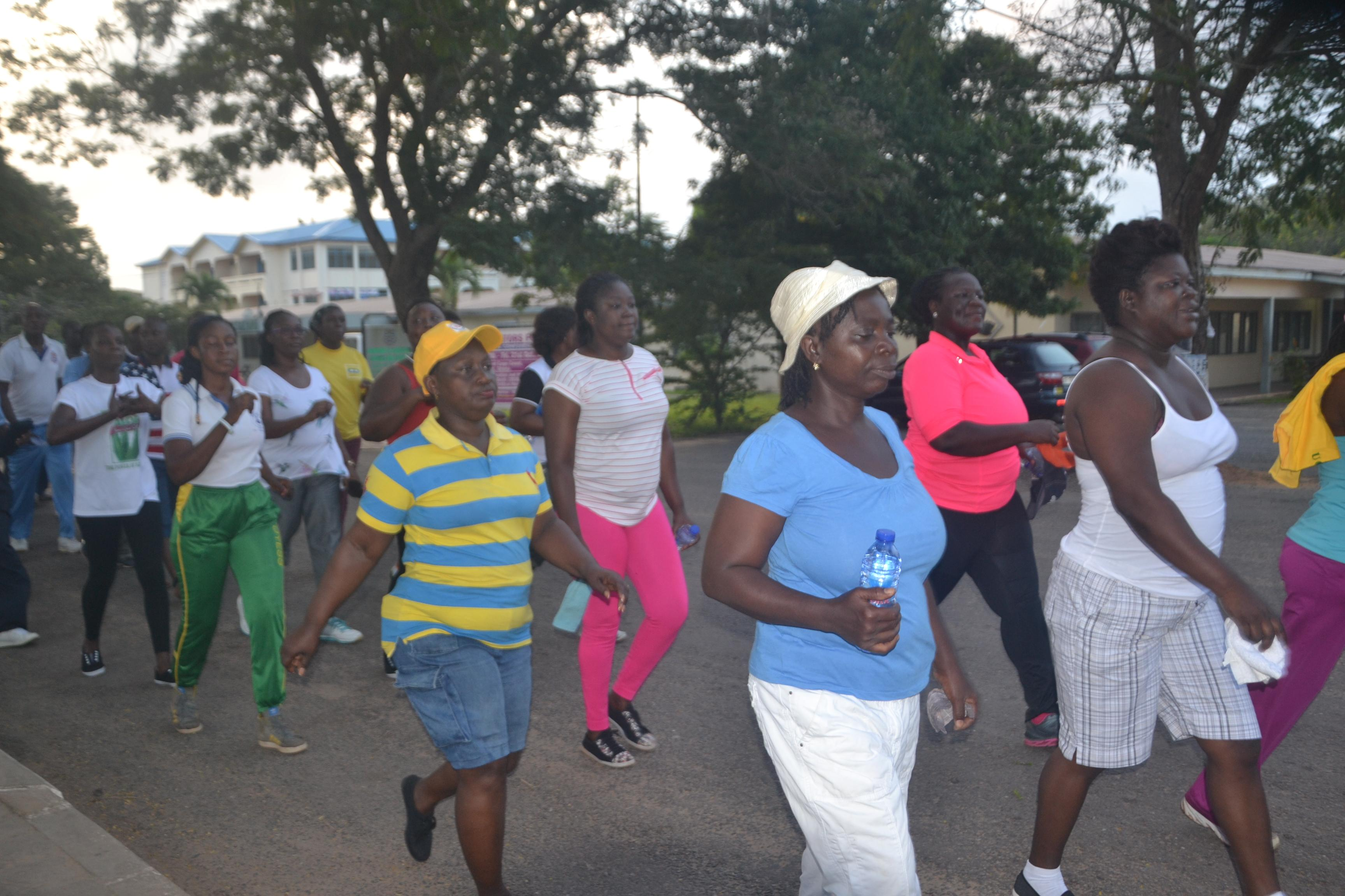 FUSSAG-UCC Institutes Monthly Health Walk